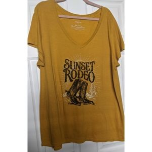 Sunset Rodeo Graphic Tee
